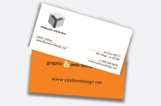 ypsilon business card