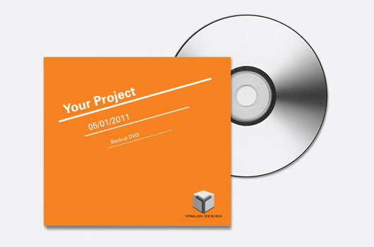 ypsilon backup dvd